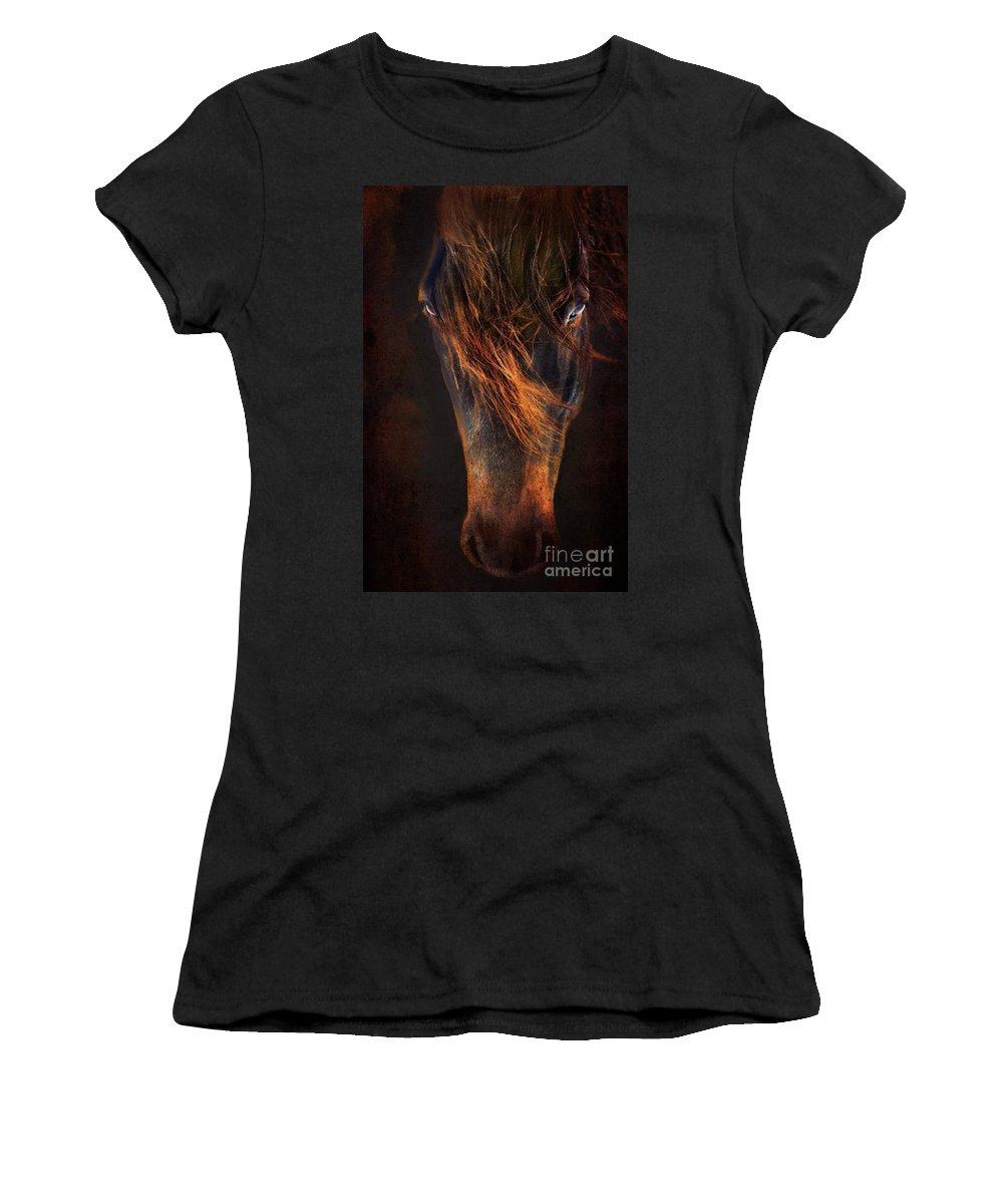Horse Women's T-Shirt featuring the photograph Joe by Annette Coady