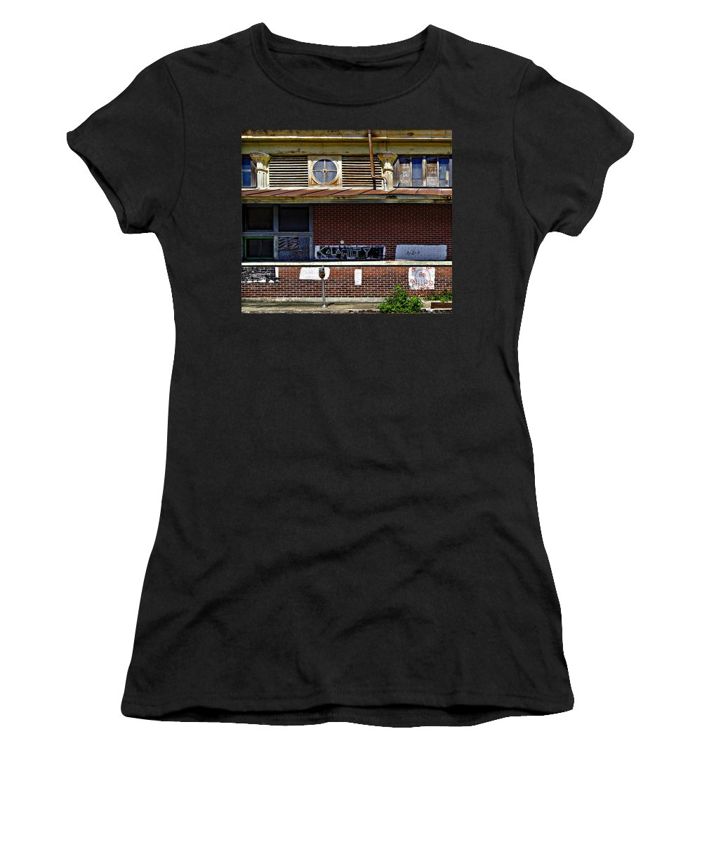 New Orleans Women's T-Shirt (Athletic Fit) featuring the photograph Kalamity by Steve Harrington
