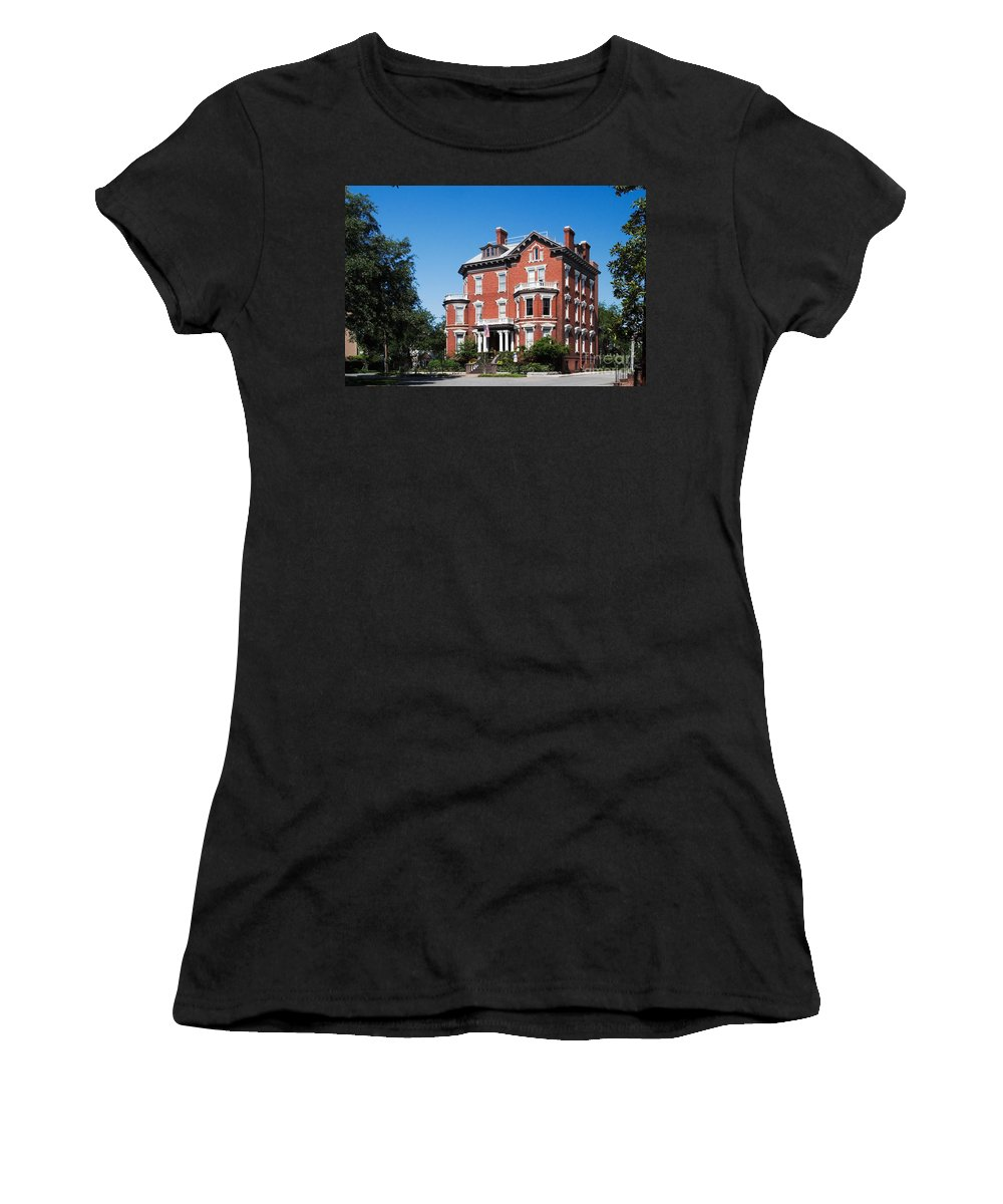 Attraction Women's T-Shirt (Athletic Fit) featuring the photograph Kehoe House by David Davis