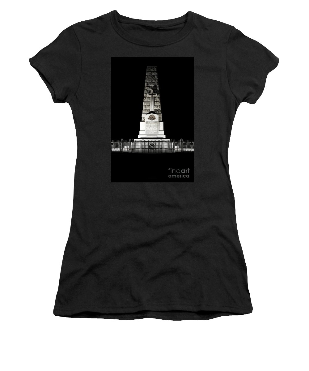 Australia Women's T-Shirt featuring the photograph Kings Park State War Memorial by Yew Kwang
