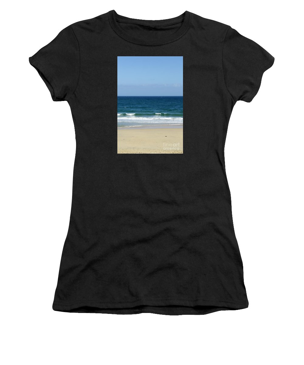 Photography Women's T-Shirt (Athletic Fit) featuring the photograph Letting Go by Wendy Wilton