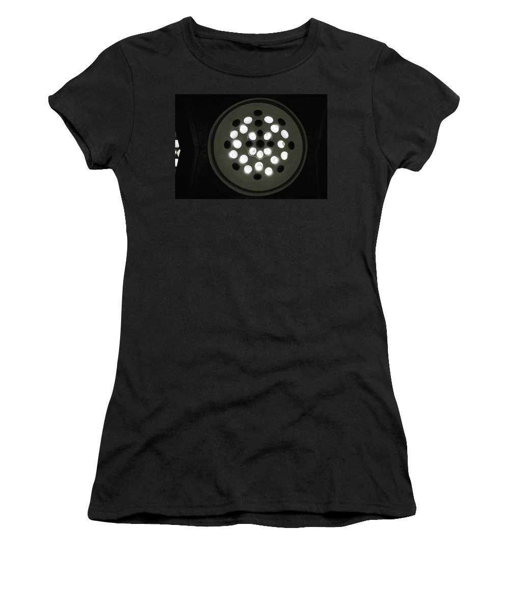 Abstract Women's T-Shirt (Athletic Fit) featuring the photograph The Beautiful Light by Shaun Higson