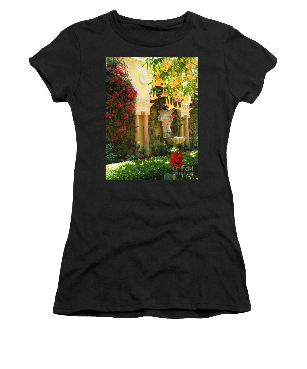 Dolphin Women's T-Shirt featuring the photograph Little Paradise II by Christiane Schulze Art And Photography