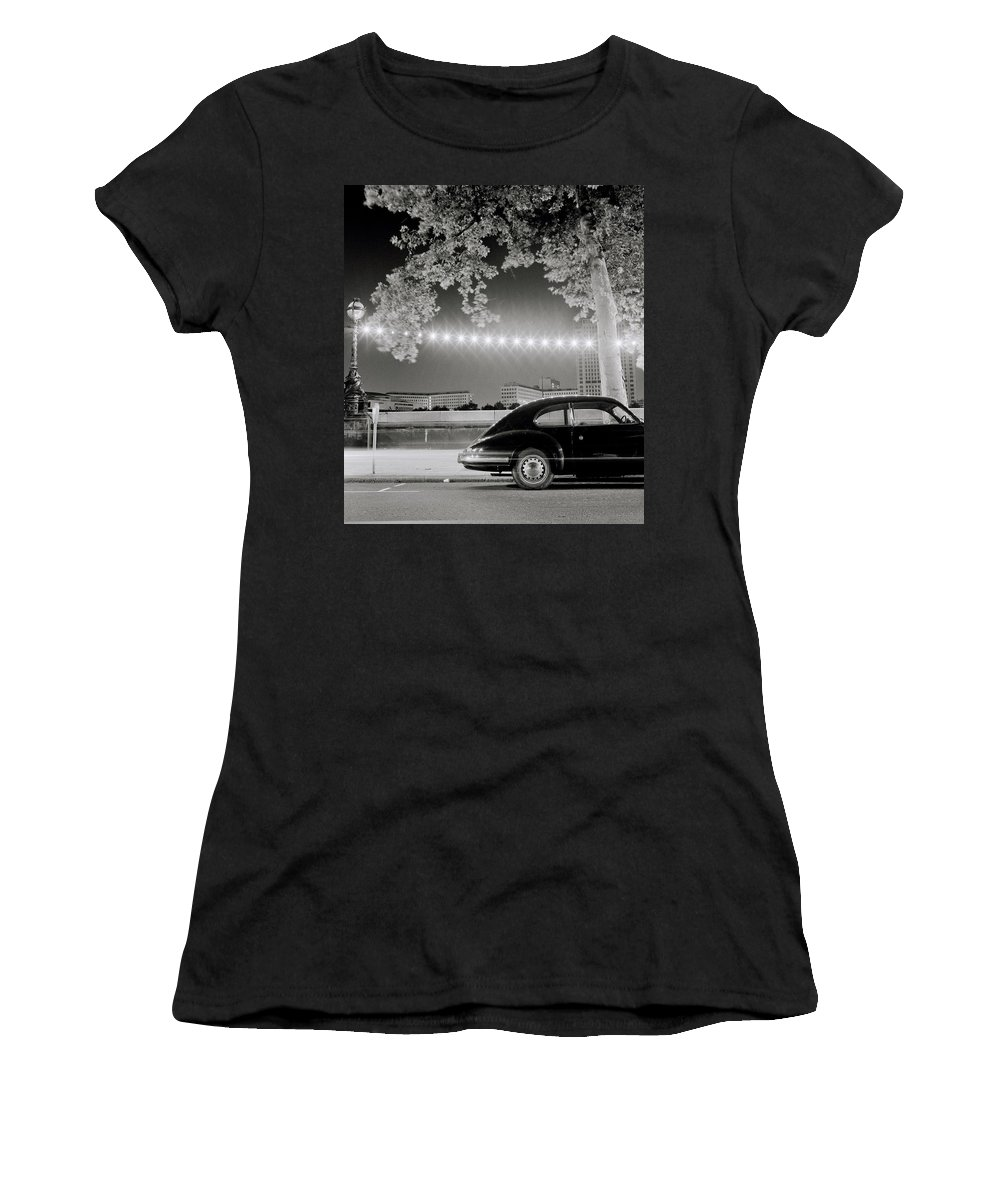 Porsche Women's T-Shirt featuring the photograph Classic London by Shaun Higson