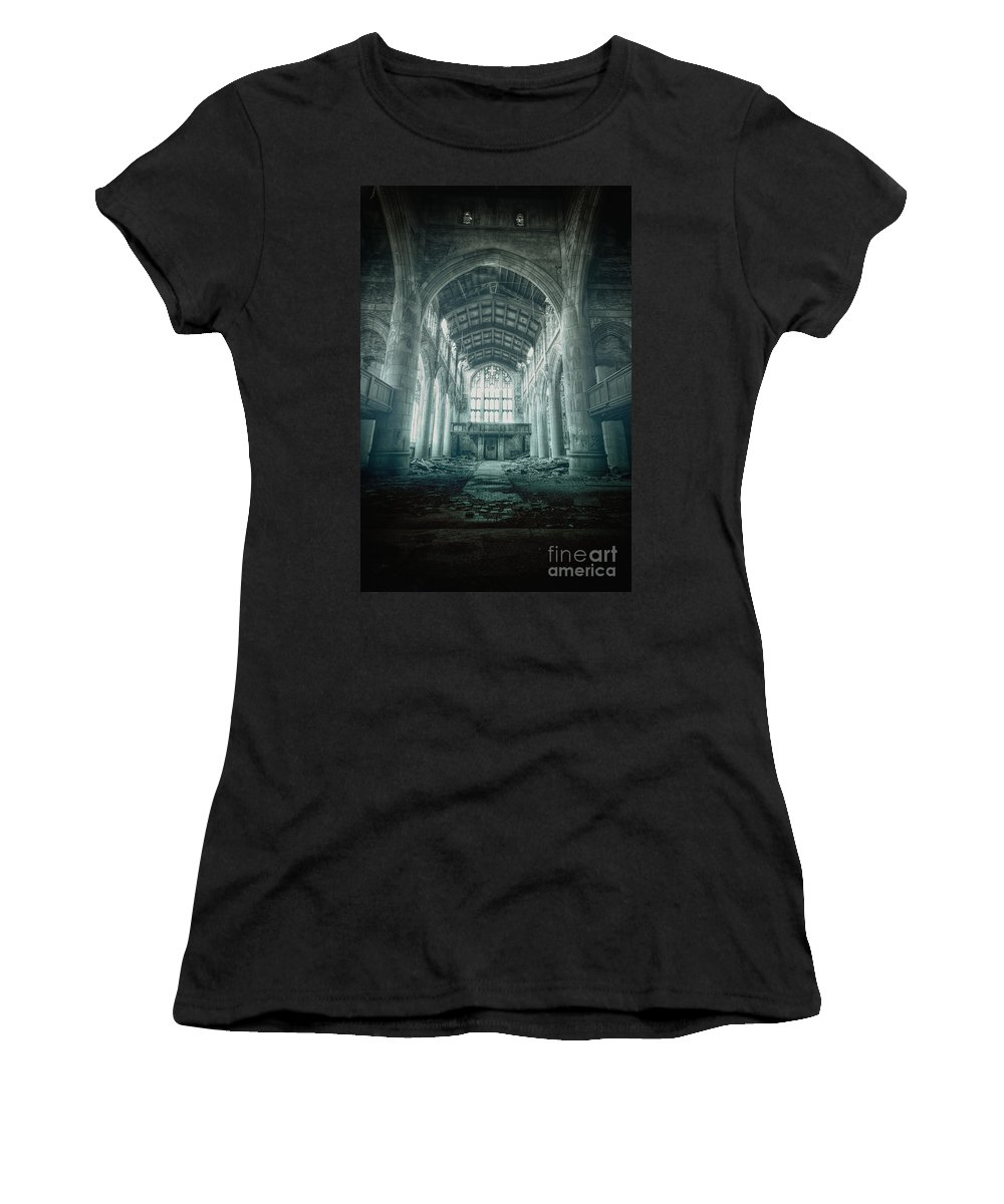Church Women's T-Shirt featuring the photograph Lost Religion by Margie Hurwich