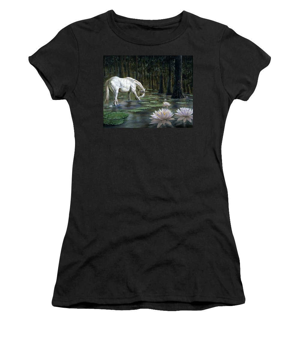 Magical Women's T-Shirt featuring the painting Majestic by Gregory Perillo