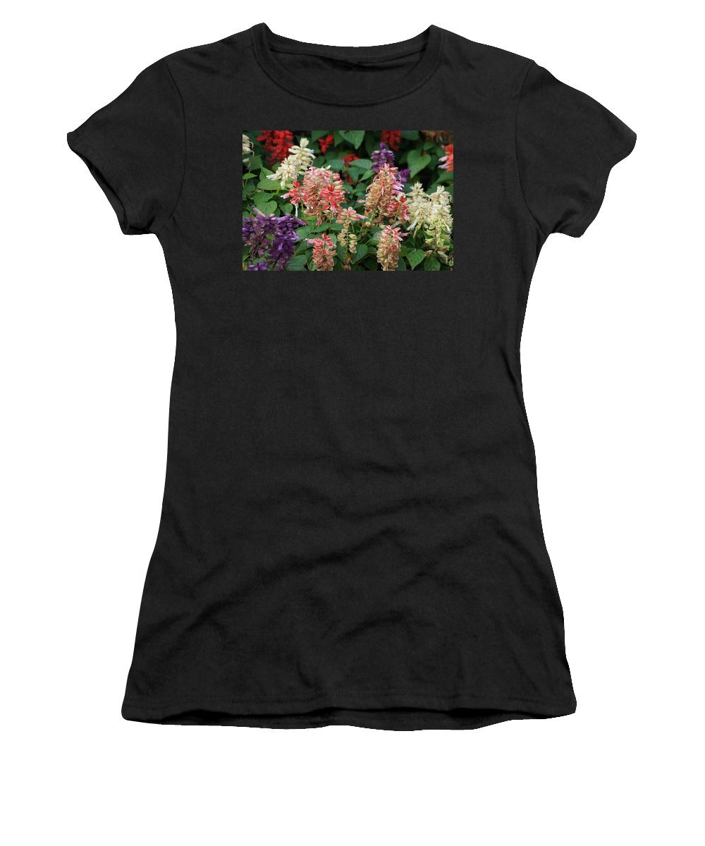 Manet Women's T-Shirt (Athletic Fit) featuring the photograph Manet's Garden by Ira Shander