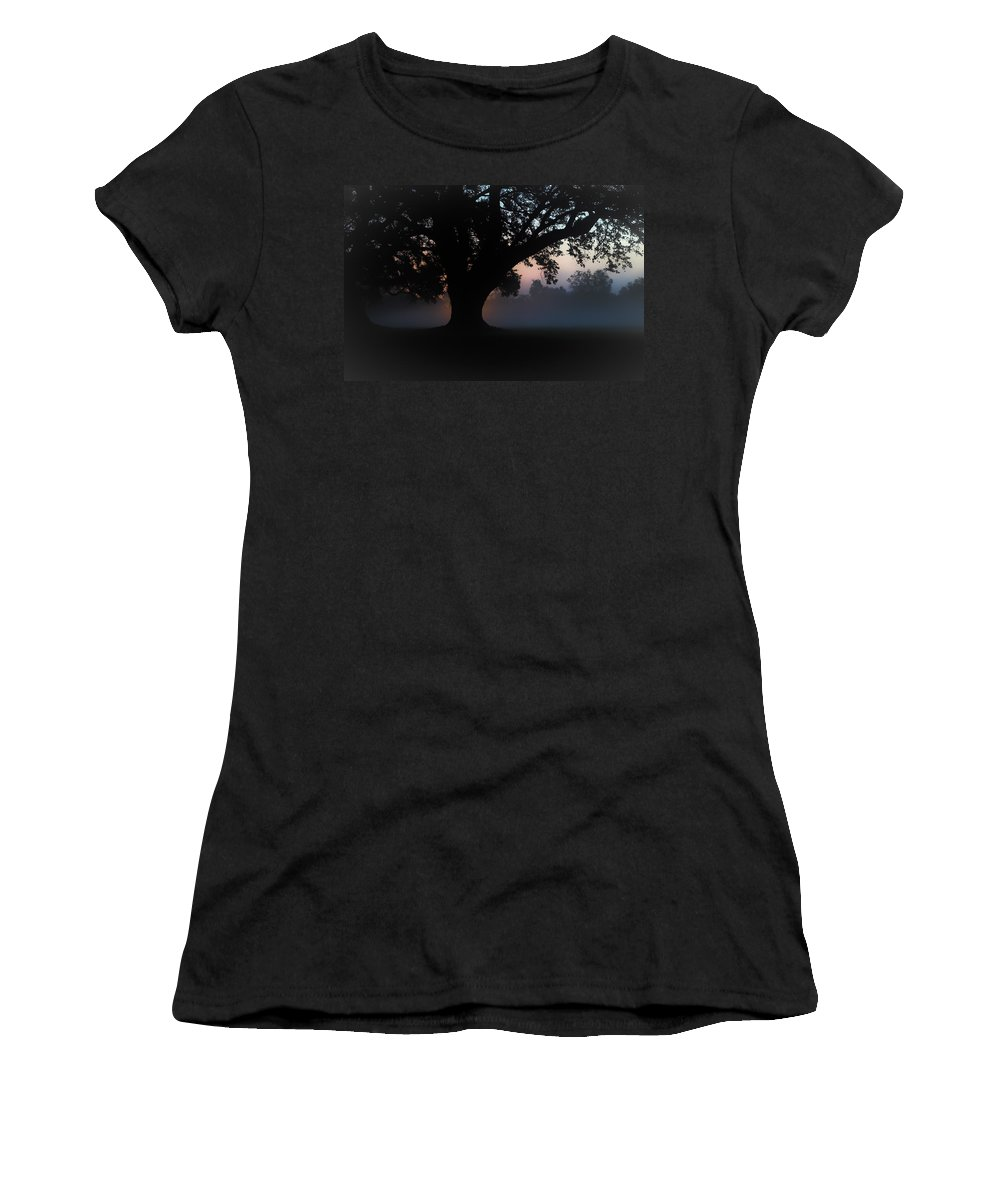 Women's T-Shirt featuring the photograph Manresa Iv by Tony Tribou