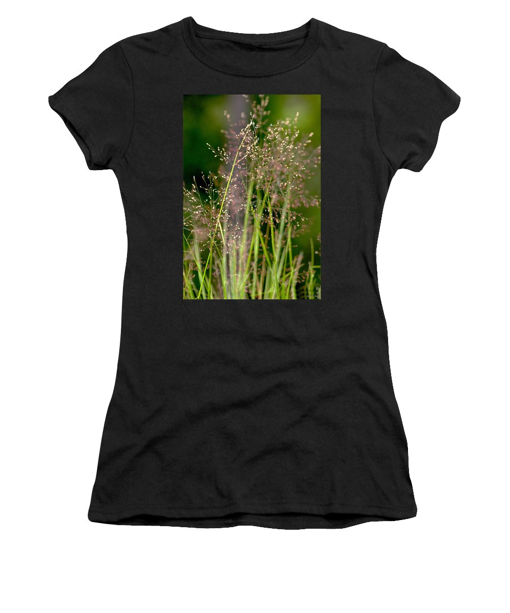 Floral Women's T-Shirt (Athletic Fit) featuring the photograph Memories Of Springtime by Holly Kempe