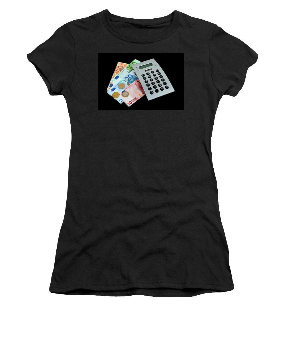 Money Women's T-Shirt featuring the photograph Money by Manfred Lutzius