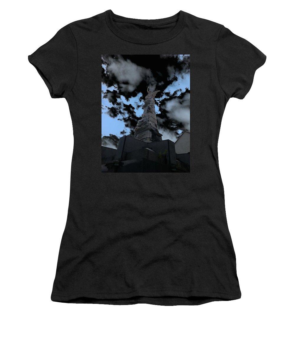 Mark J Dunn Women's T-Shirt featuring the photograph Monterosso Al Mare by Mark J Dunn
