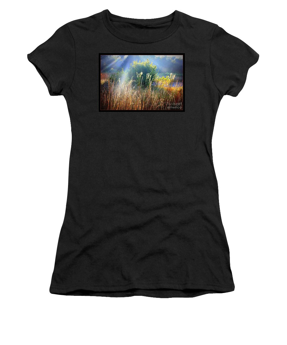 Sunrise Women's T-Shirt featuring the photograph Morning Glory by Carol Groenen