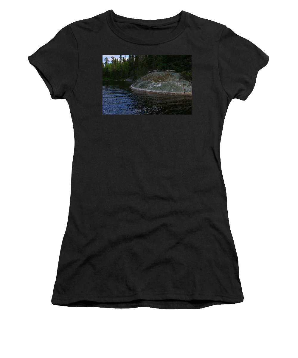 Lake Women's T-Shirt (Athletic Fit) featuring the photograph Nature's Own by Randy Pollard