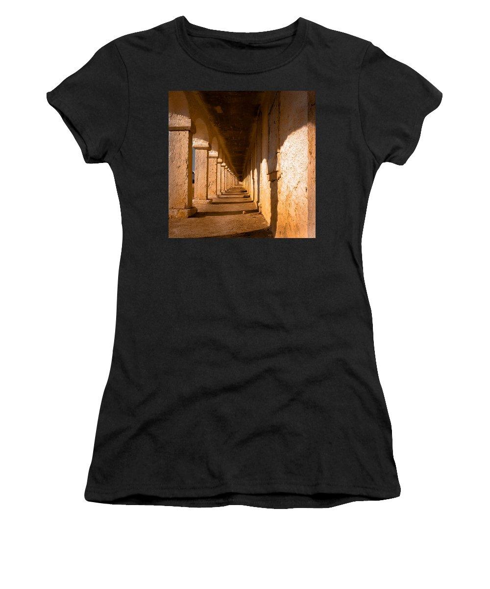 Sanctuary Women's T-Shirt featuring the photograph Never Ending Story by Edgar Laureano