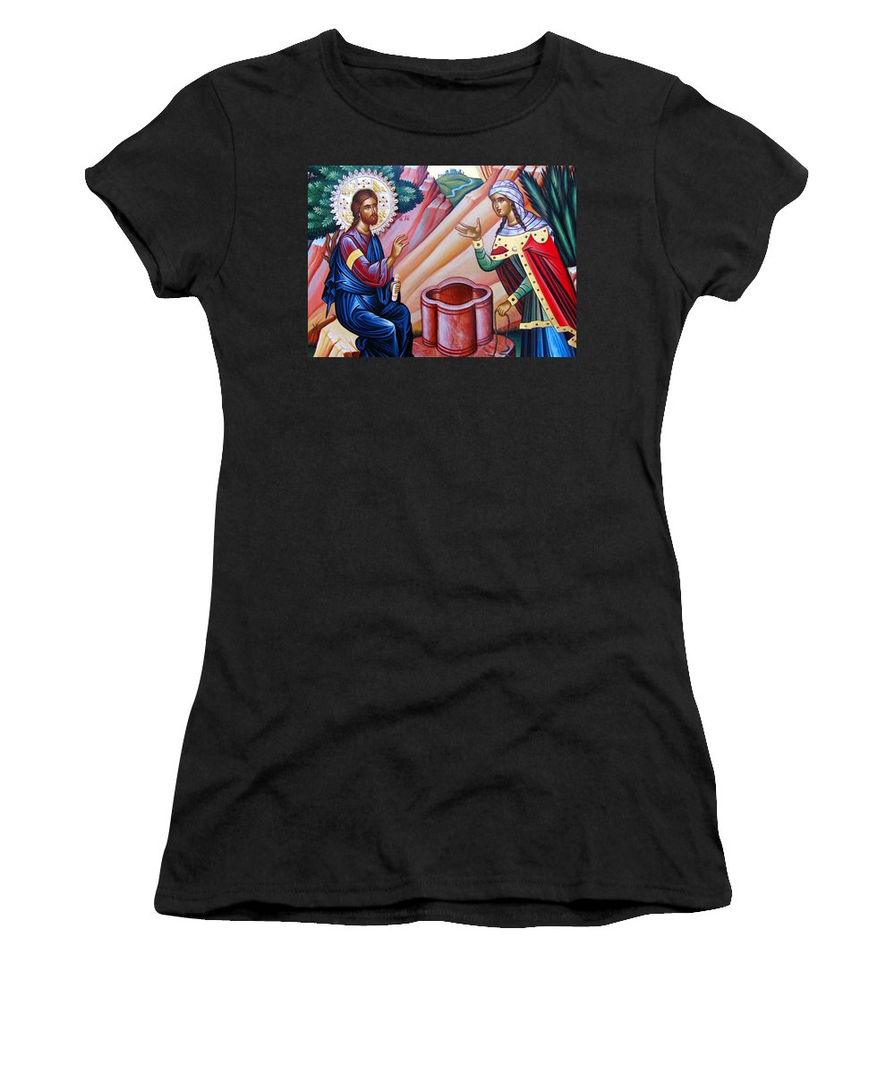 Well Women's T-Shirt featuring the photograph Next To Well by Munir Alawi