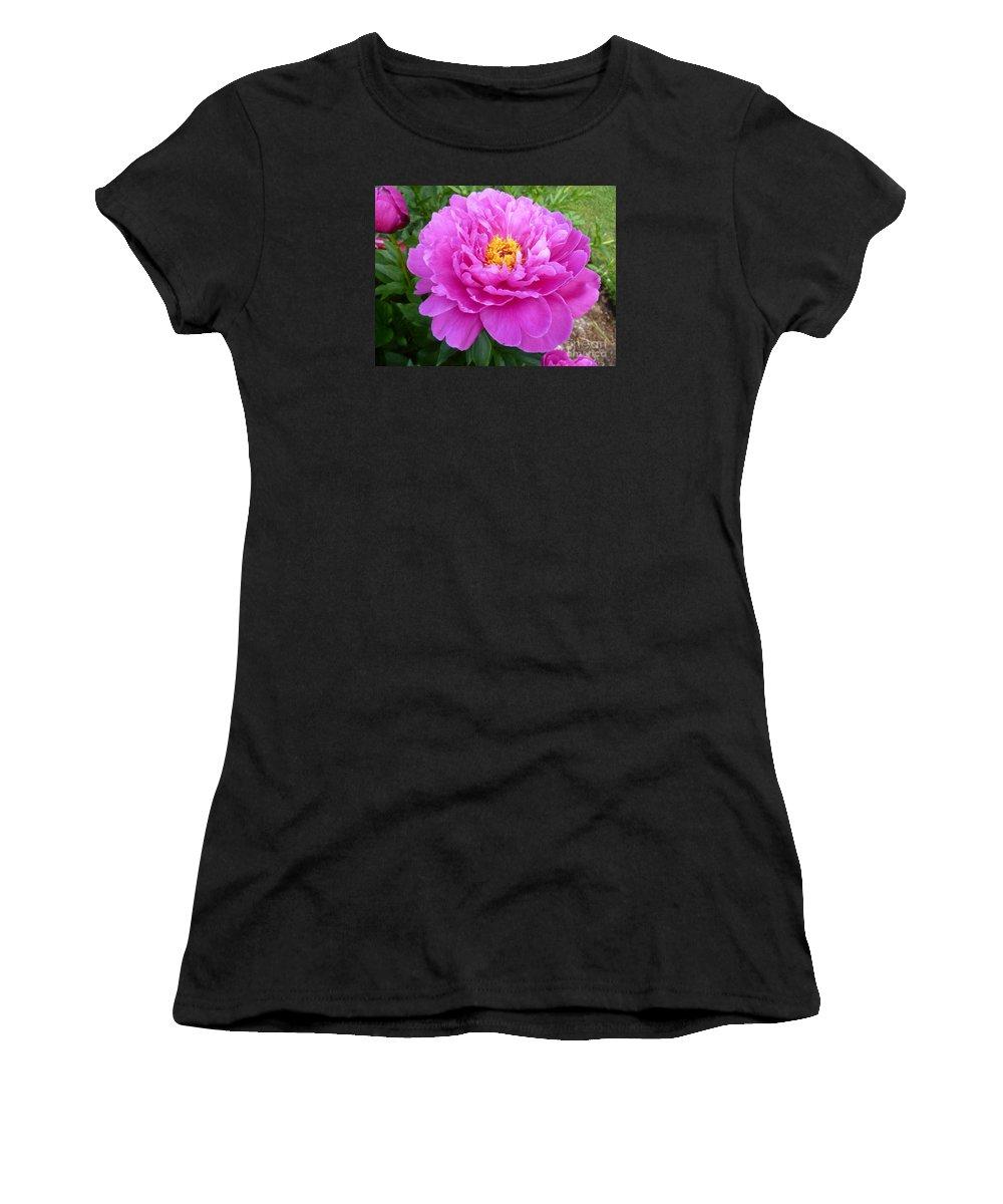 Beautiful Flower Women's T-Shirt featuring the photograph Nice Gal by Lingfai Leung