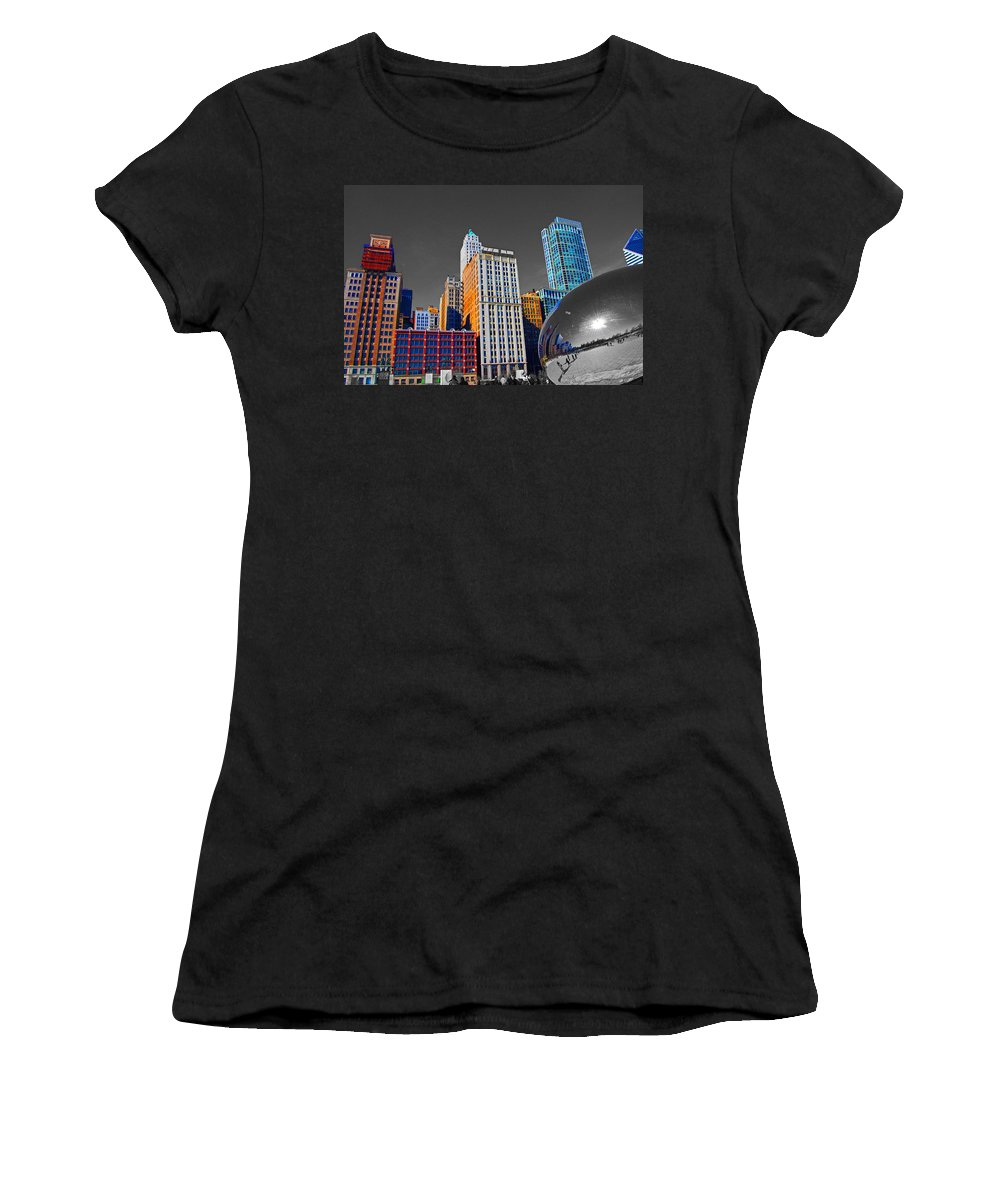 Bean Women's T-Shirt (Athletic Fit) featuring the photograph No Color Bean by Rick Selin