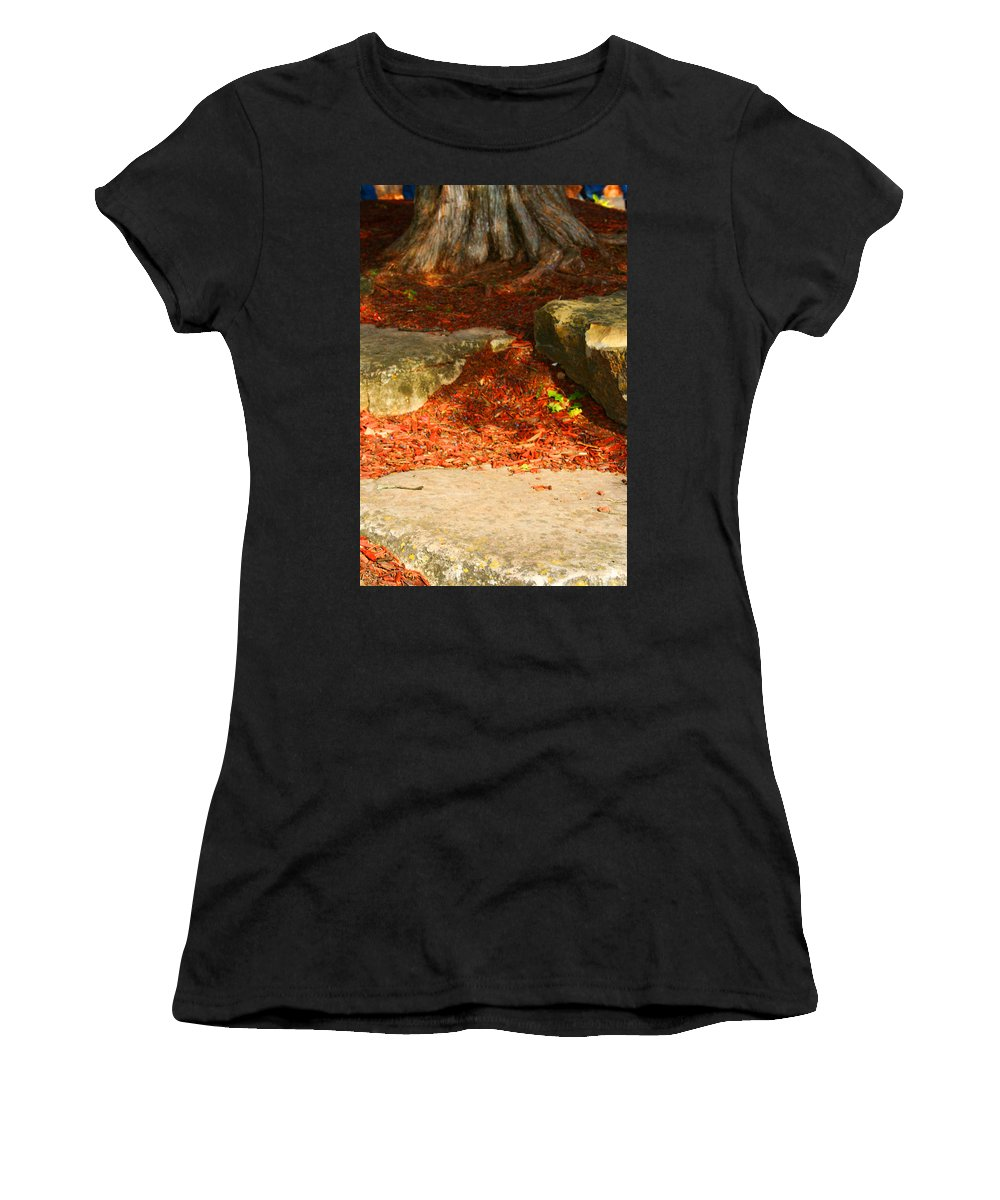 Tree Women's T-Shirt (Athletic Fit) featuring the photograph Nome Land by Jamie Lynn