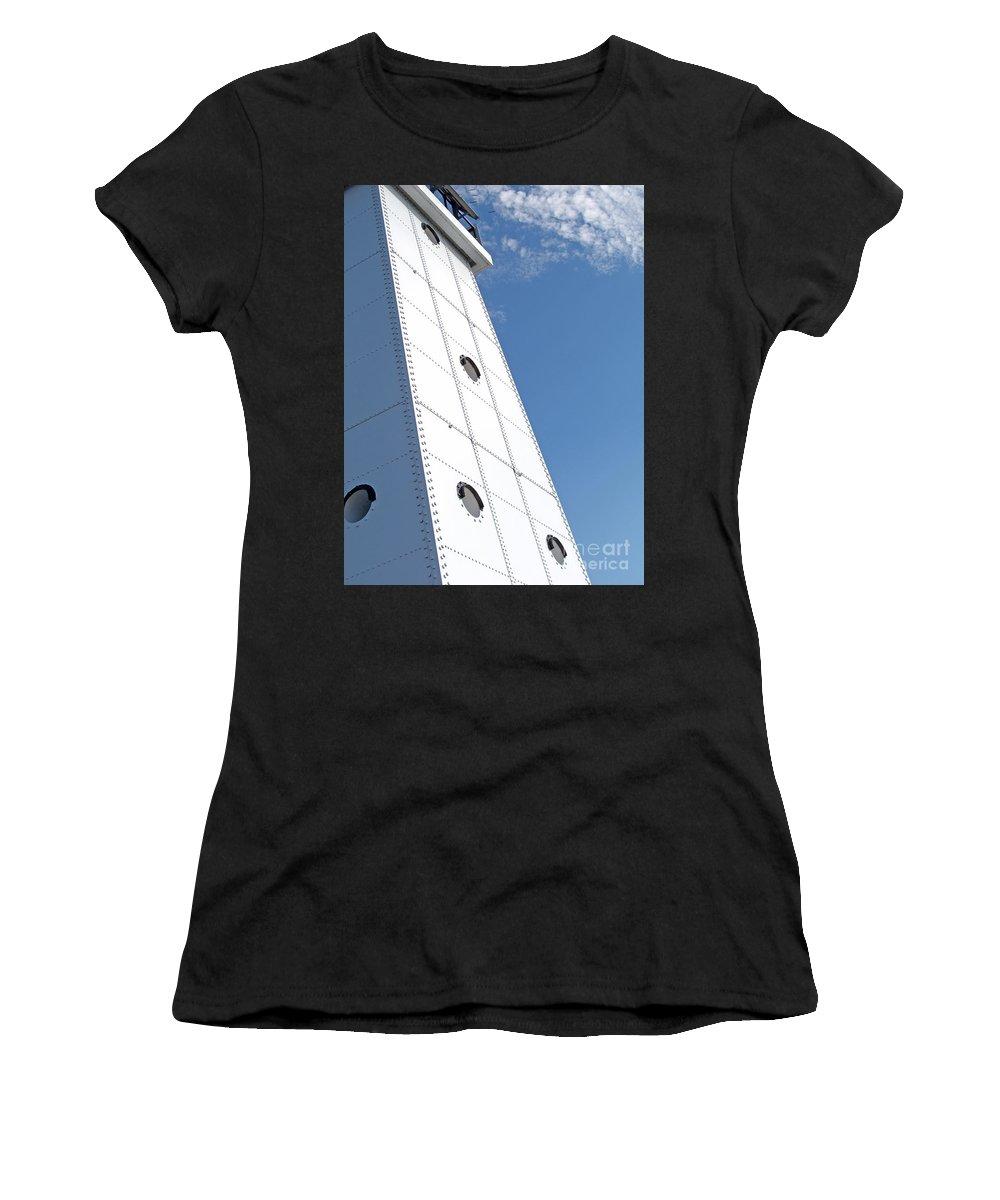 Ludington Women's T-Shirt featuring the photograph North Light by Ann Horn