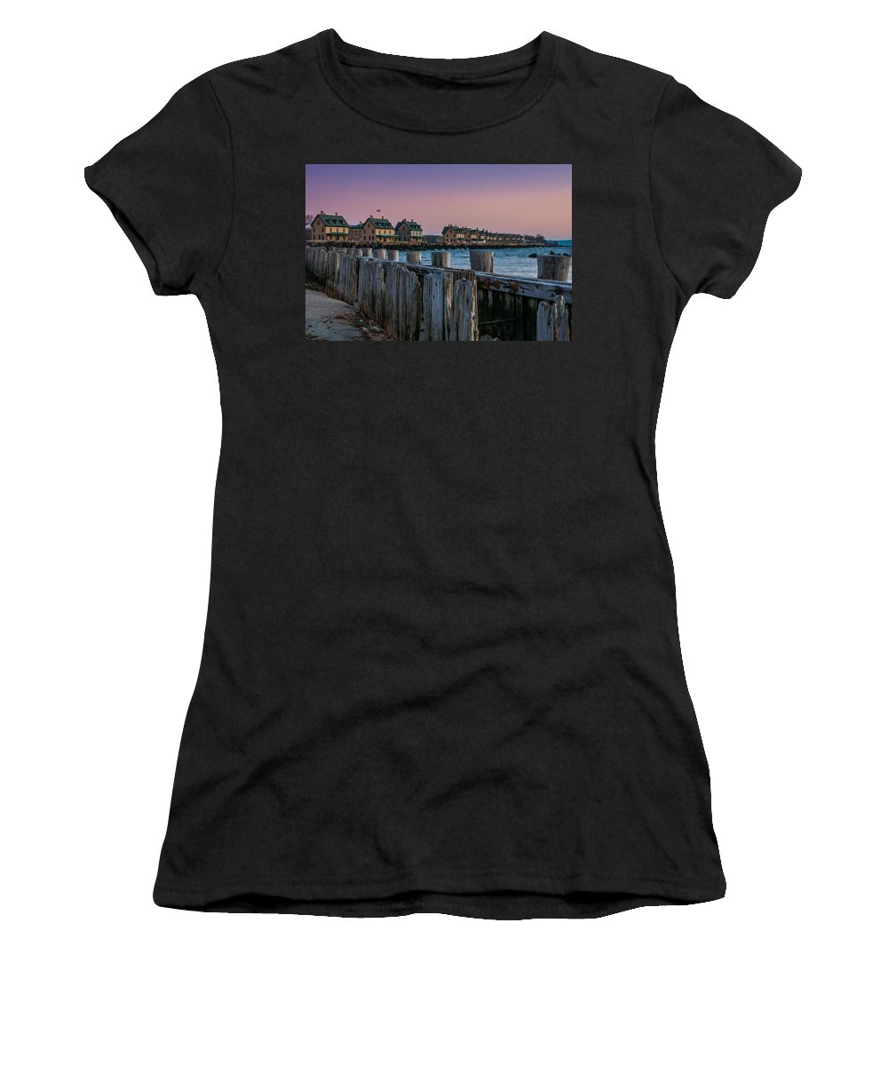 New Jersey Women's T-Shirt featuring the photograph Officers' Row by Kristopher Schoenleber
