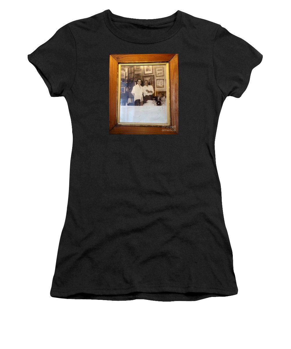 Pablo Picasso Women's T-Shirt featuring the photograph Oh Pablo.. by France Art