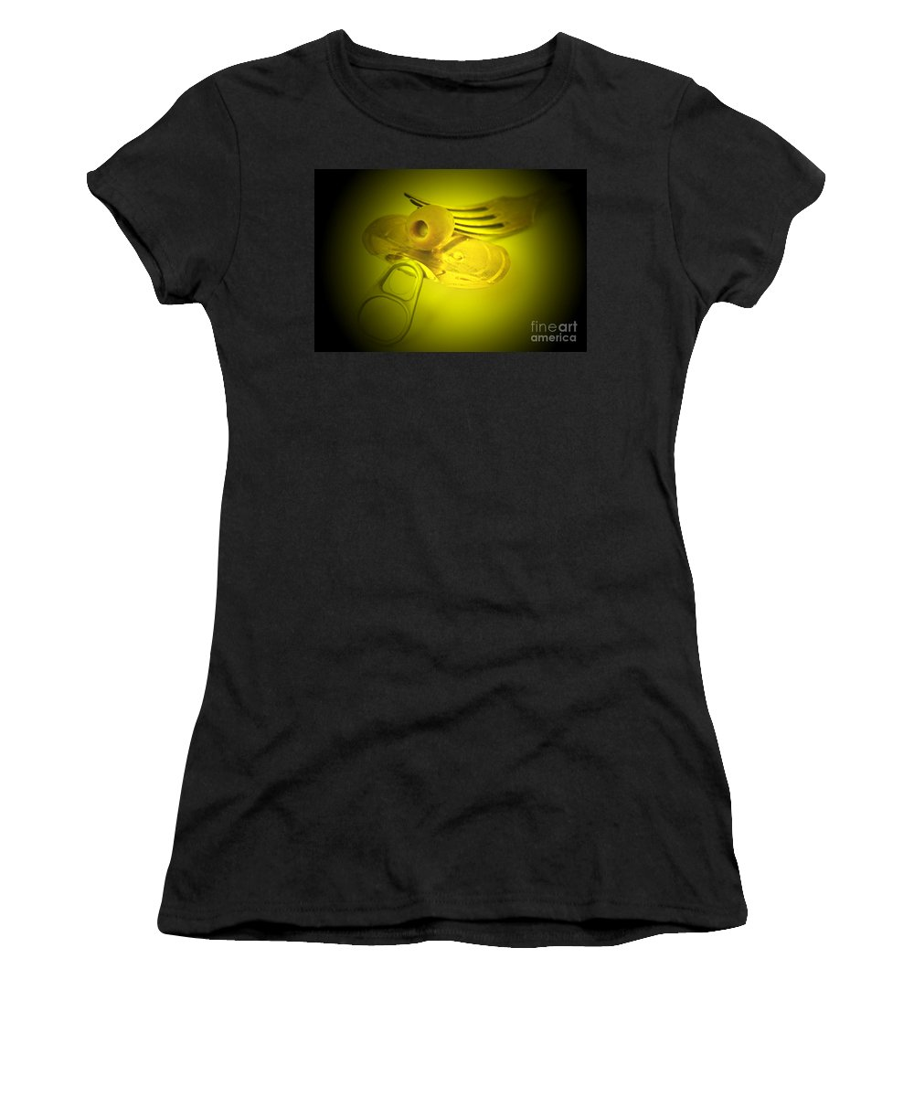 Olive Women's T-Shirt featuring the photograph Olive by Lali Kacharava