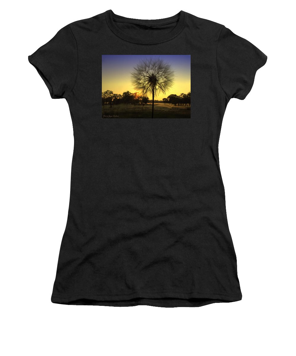Morning Women's T-Shirt (Athletic Fit) featuring the photograph One Of Those Magical Mornings by Joyce Dickens