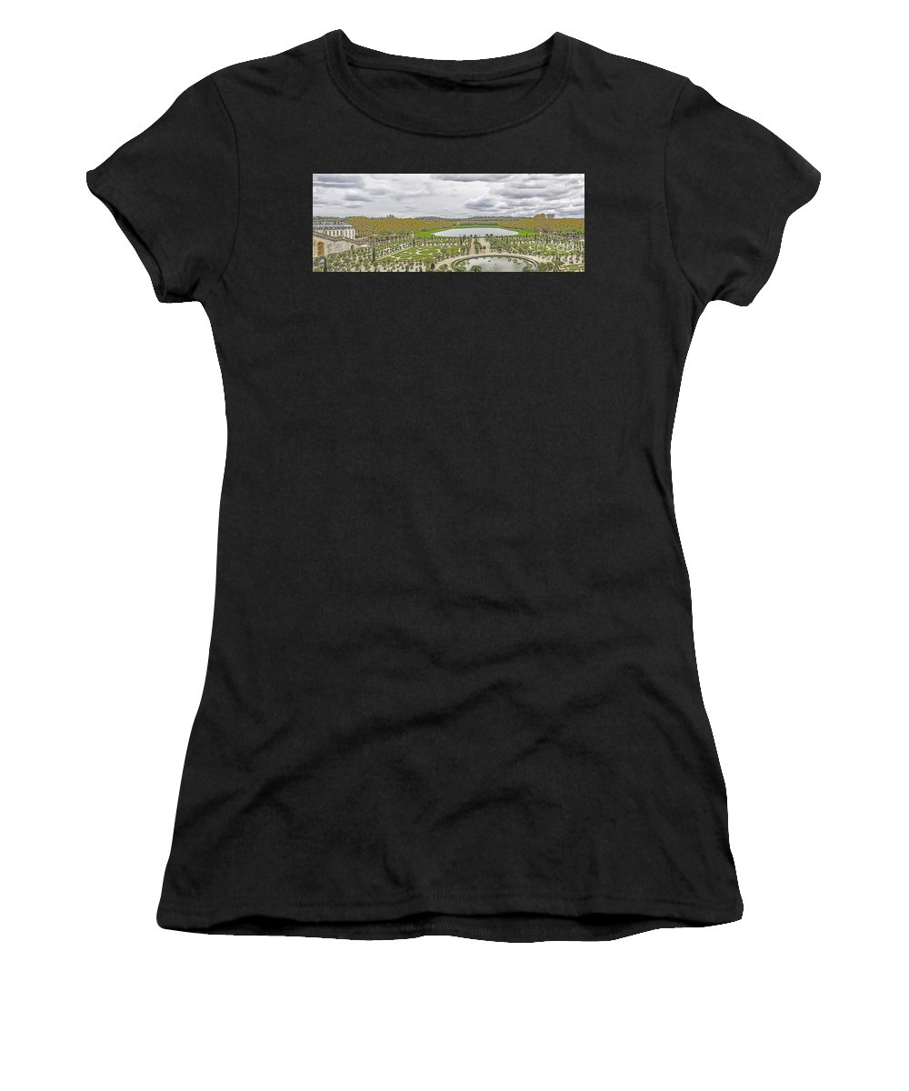 Travel Women's T-Shirt (Athletic Fit) featuring the photograph Orangerie by Elvis Vaughn