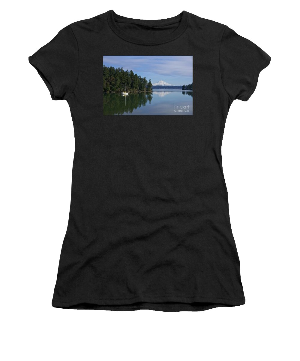 Photography Women's T-Shirt featuring the photograph Oro Bay IIi by Sean Griffin