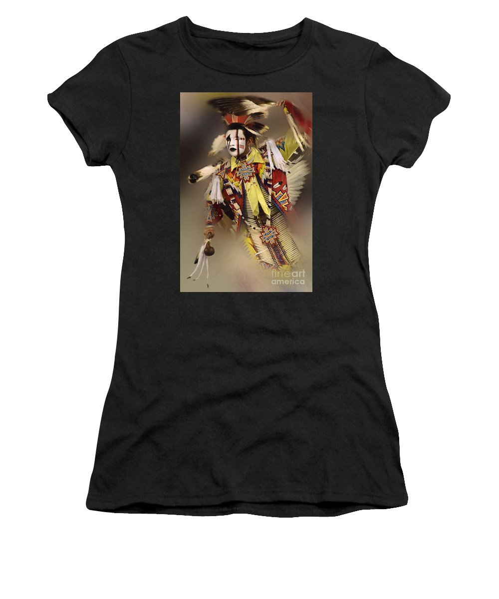 Pow Wow Women's T-Shirt featuring the photograph Out Of Time by Bob Christopher