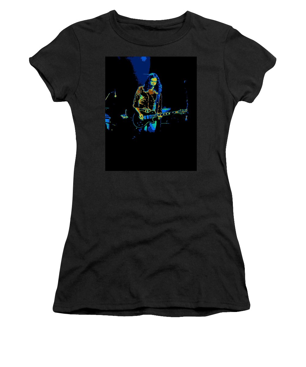 Outlaws Women's T-Shirt featuring the photograph Outlaws #12 Art Psychedelic 2 by Ben Upham