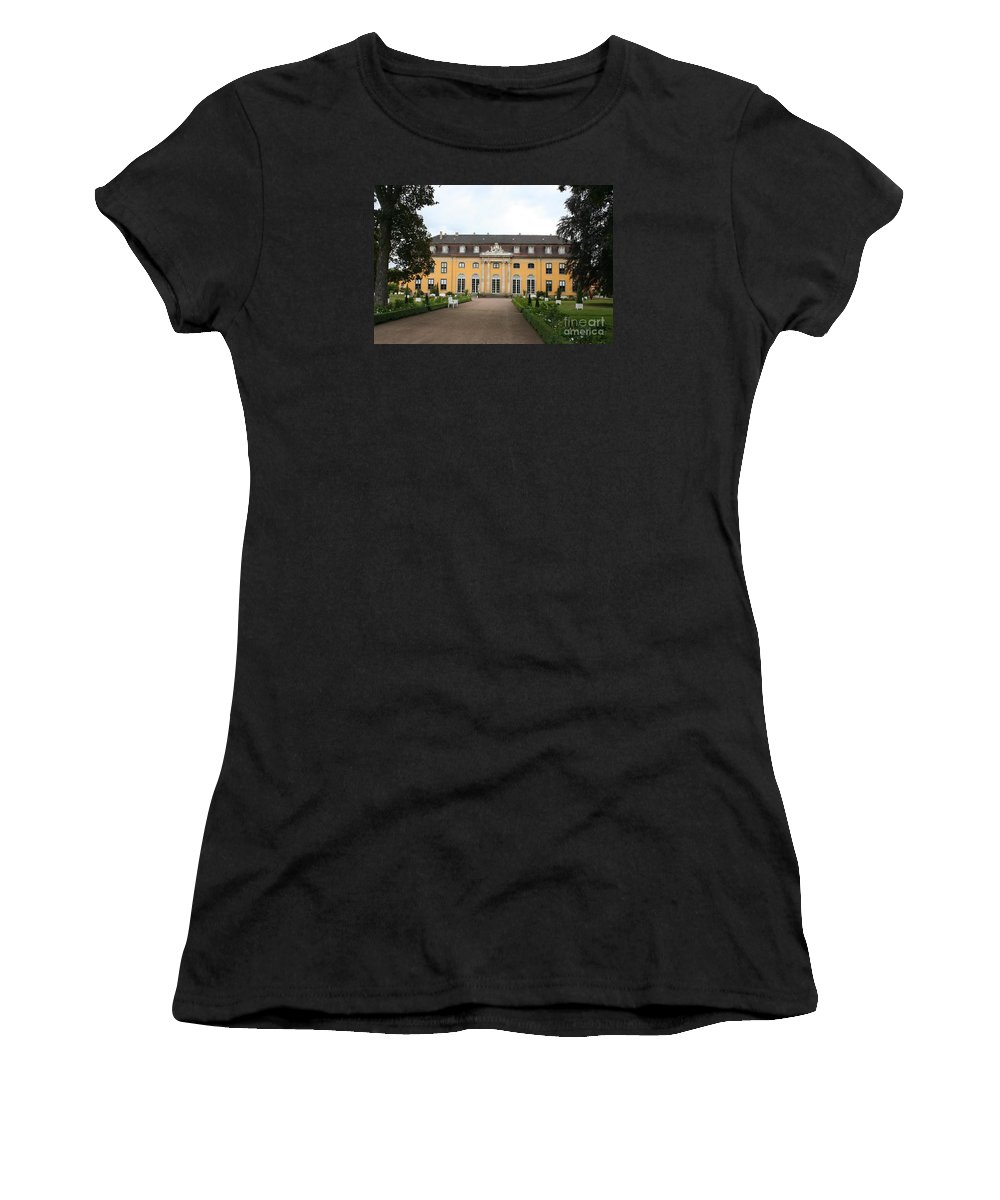 Palace Women's T-Shirt (Athletic Fit) featuring the photograph Palace Mosigkau - Germany by Christiane Schulze Art And Photography