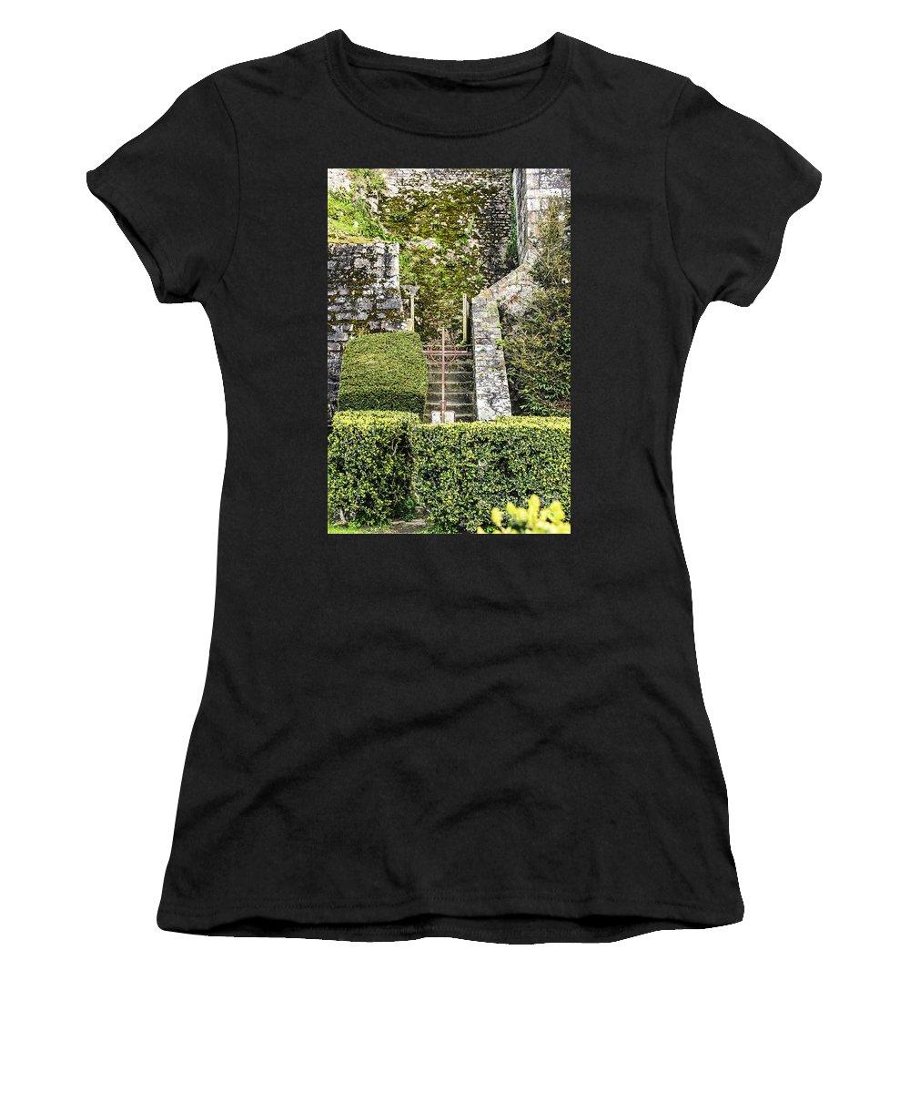 Travel Women's T-Shirt featuring the photograph Pilgrim's Steps by Elvis Vaughn