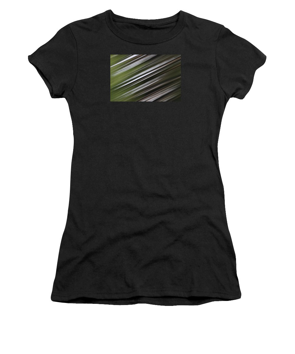 Women's T-Shirt featuring the photograph Pine Woods Sweep by Dreamland Media