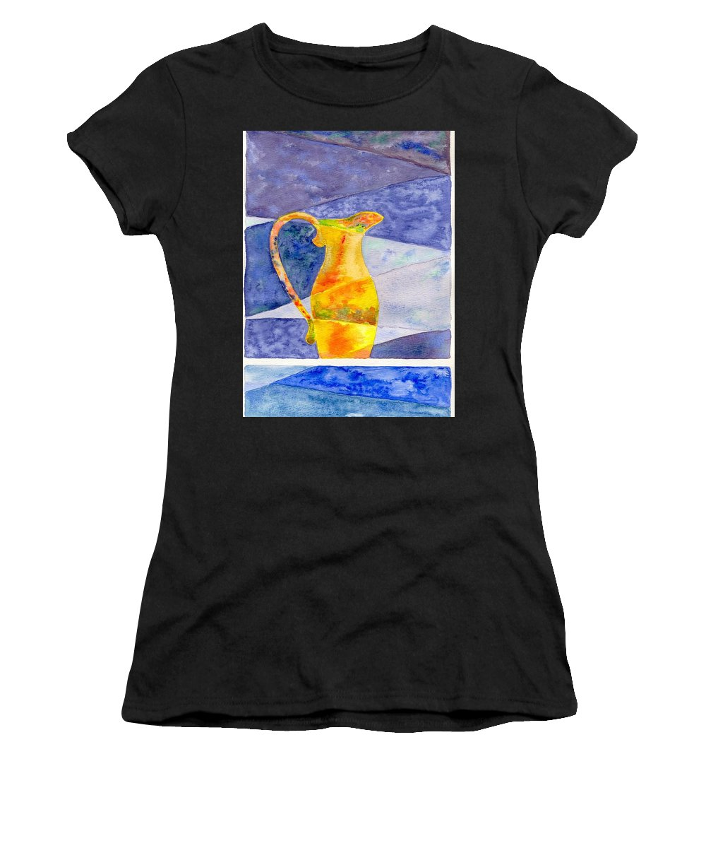 Still Life Women's T-Shirt featuring the painting Pitcher 1 by Micah Guenther