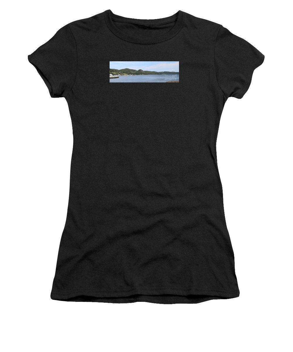 Placentia Gut Women's T-Shirt (Athletic Fit) featuring the photograph Placentia Gut by Barbara Griffin