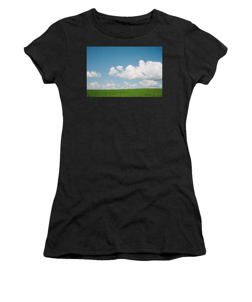 Nature Women's T-Shirt (Athletic Fit) featuring the photograph Pure And Simple by Olivier De Rycke