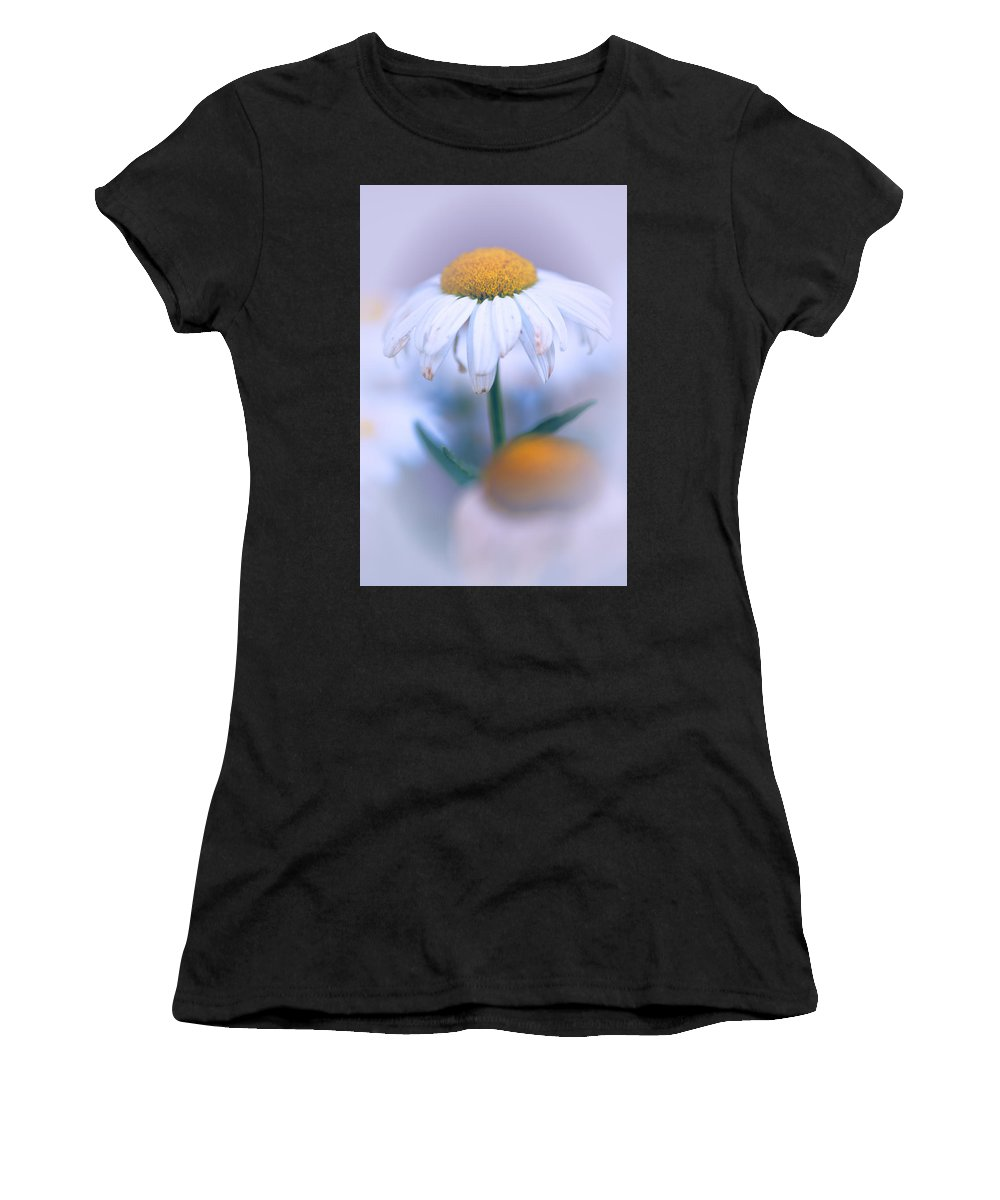 Flower Women's T-Shirt featuring the photograph Purple Softness by Karol Livote