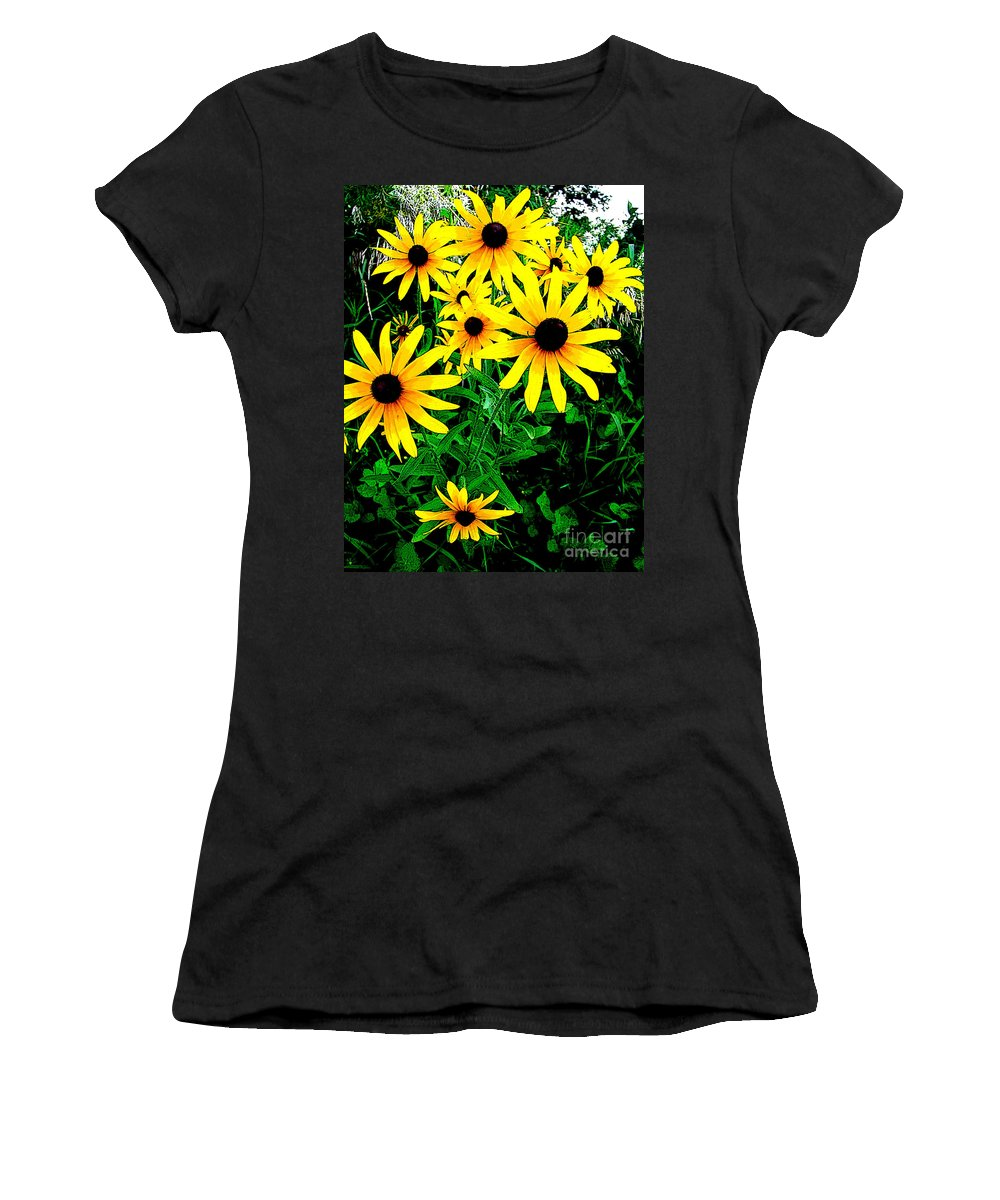 Ron Tackett Women's T-Shirt featuring the photograph Right Of Association 1 by Ron Tackett