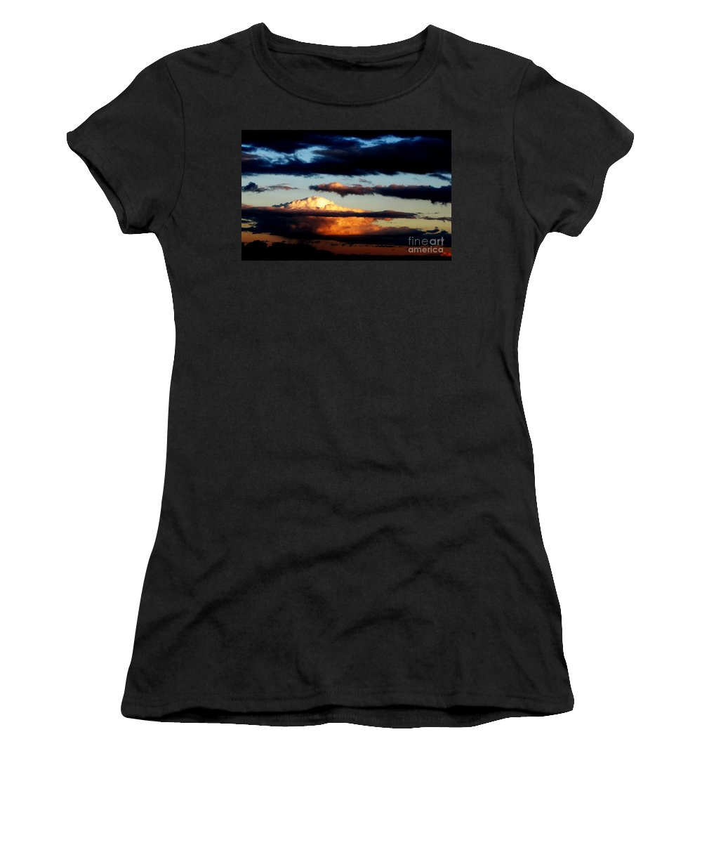Ron Tackett Women's T-Shirt (Athletic Fit) featuring the photograph Rise by Ron Tackett