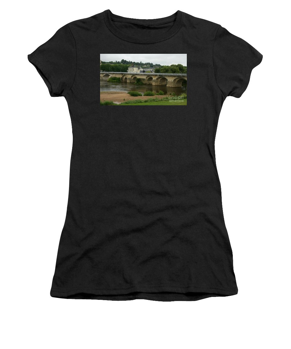 River Women's T-Shirt featuring the photograph River Vienne - France by Christiane Schulze Art And Photography