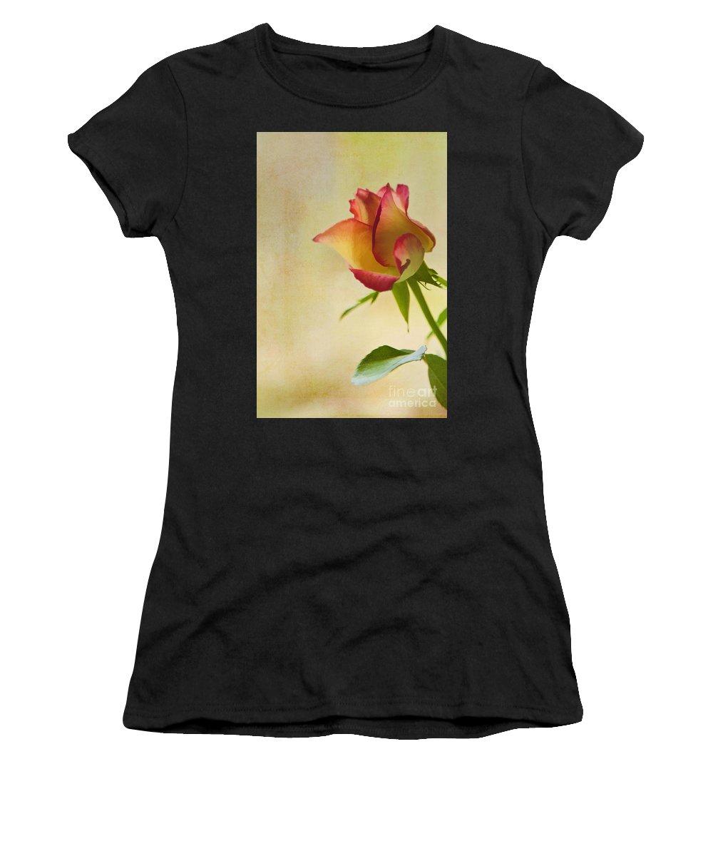 Art Women's T-Shirt featuring the photograph Rose by Veikko Suikkanen