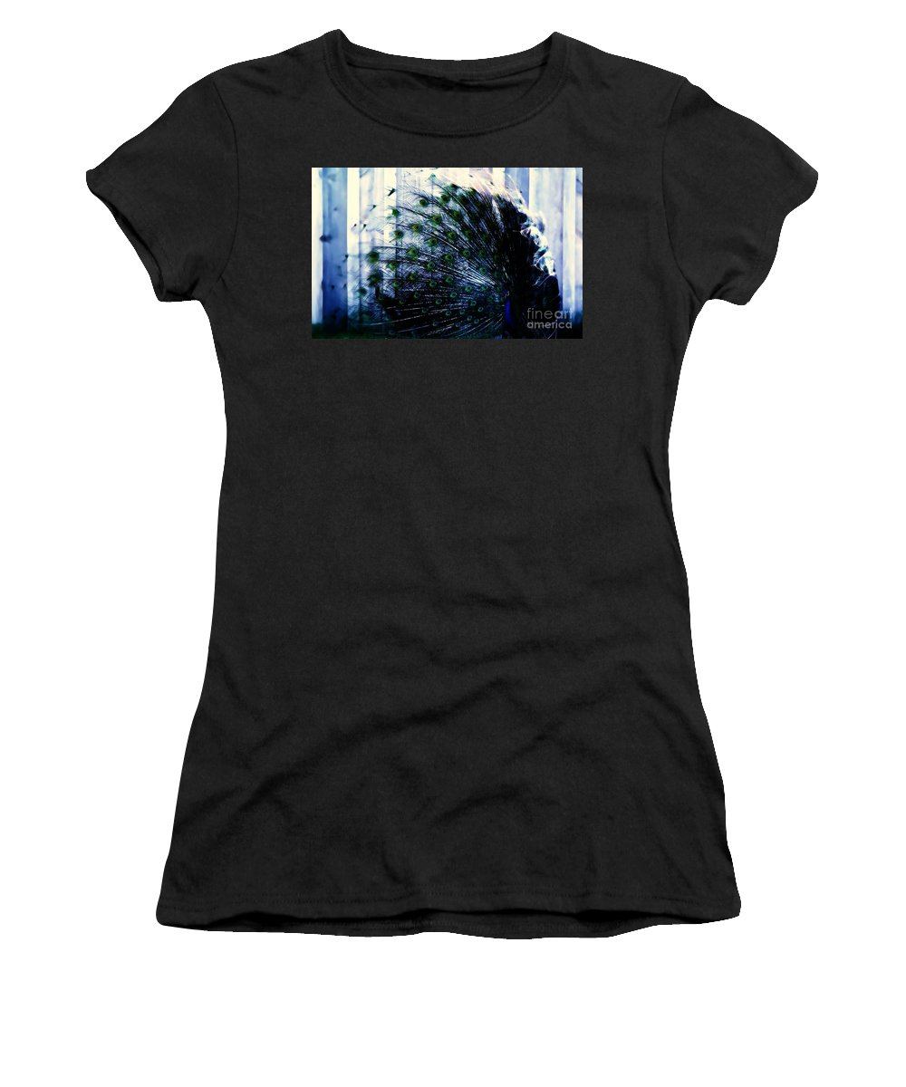 Blue Women's T-Shirt featuring the photograph Royal Blue by Jessica Shelton