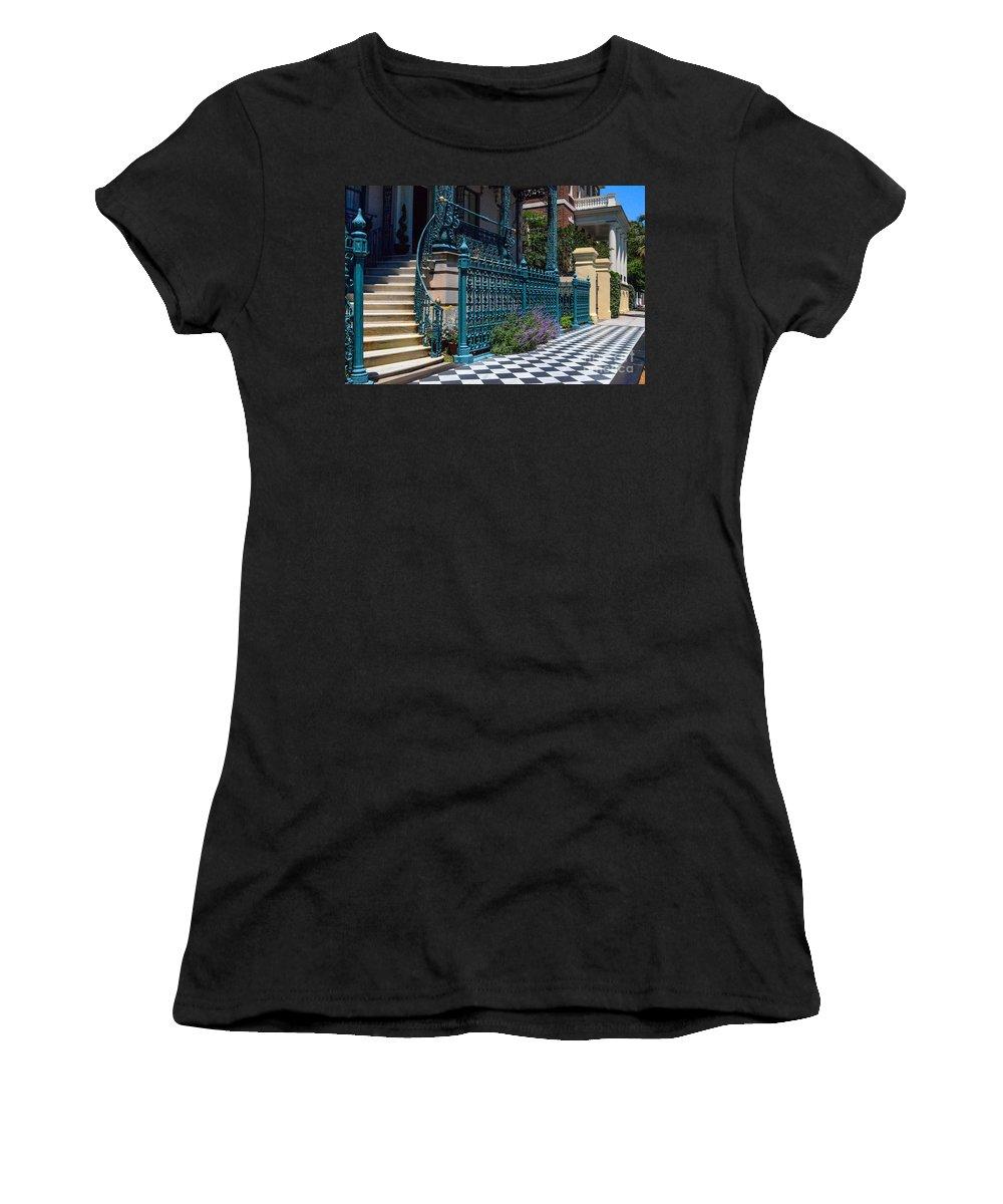 John Rutledge House Inn Women's T-Shirt featuring the photograph Rutledge B And B by Dale Powell