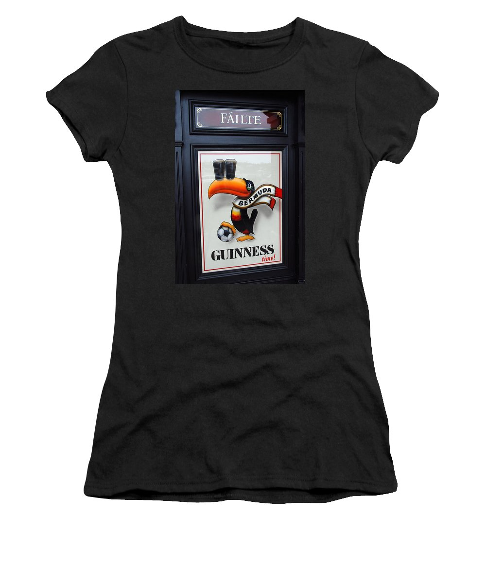 Signs Women's T-Shirt (Athletic Fit) featuring the photograph Samus O' Tucan by John Schneider