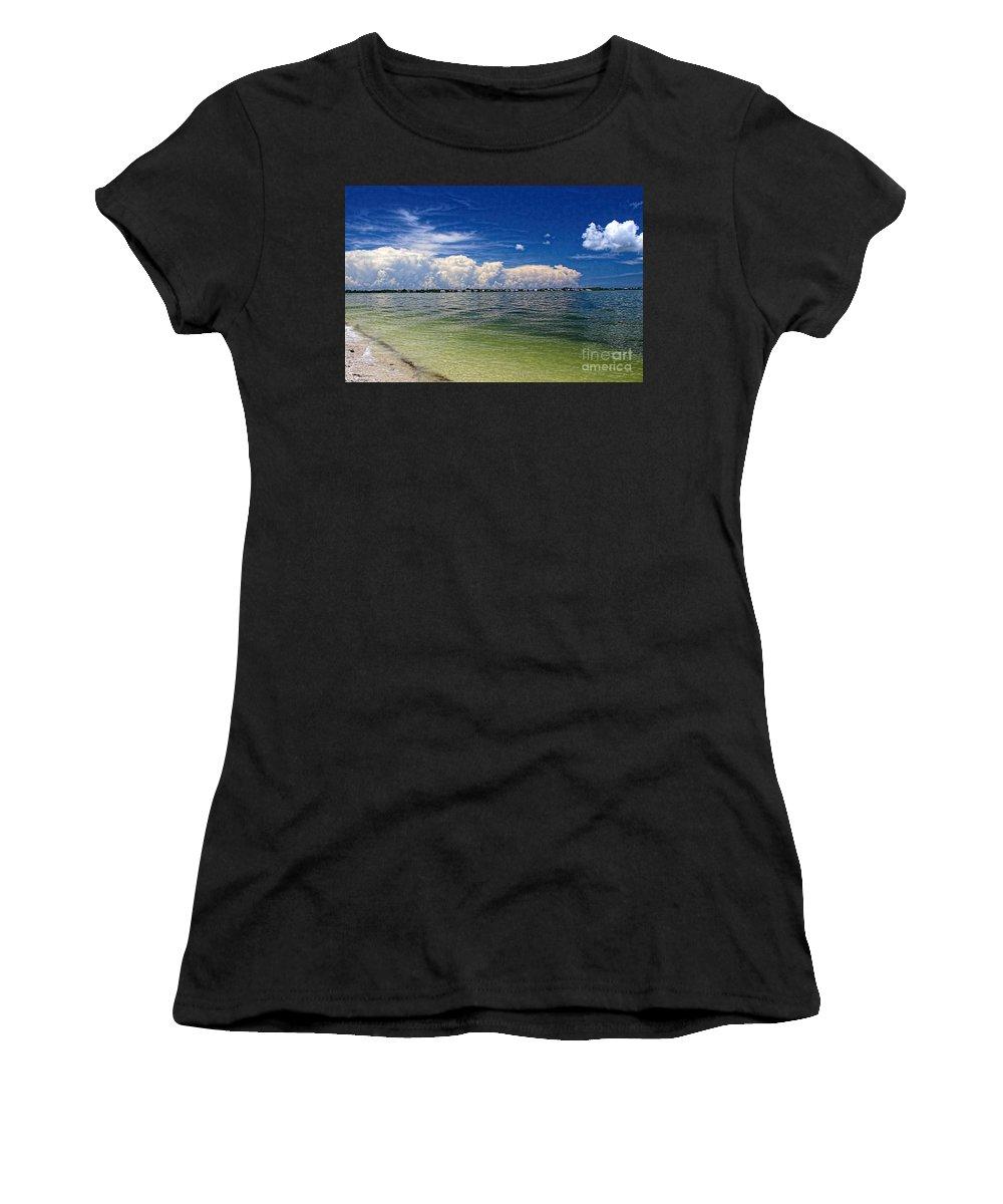 Beach Women's T-Shirt featuring the photograph Sanibel Island by Richard Gripp