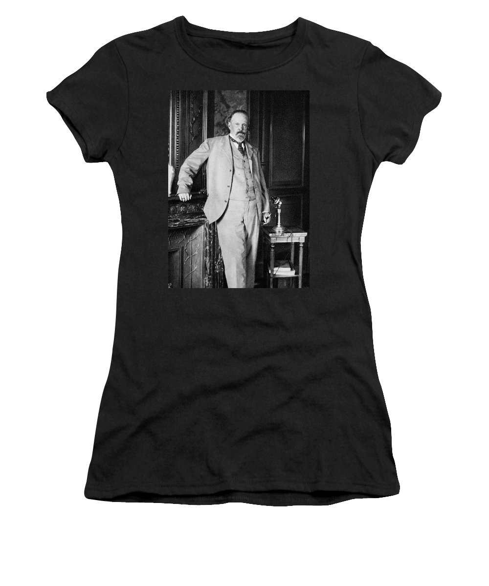 1905 Women's T-Shirt (Athletic Fit) featuring the photograph Sergey Yulyevich Witte (1849-1915) by Granger