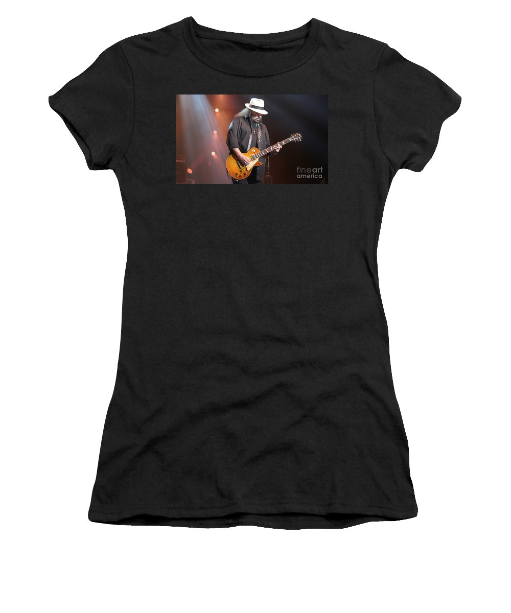 Lynyrd Skynyrd Women's T-Shirt featuring the photograph Skynyrd-gary-7395 by Gary Gingrich Galleries