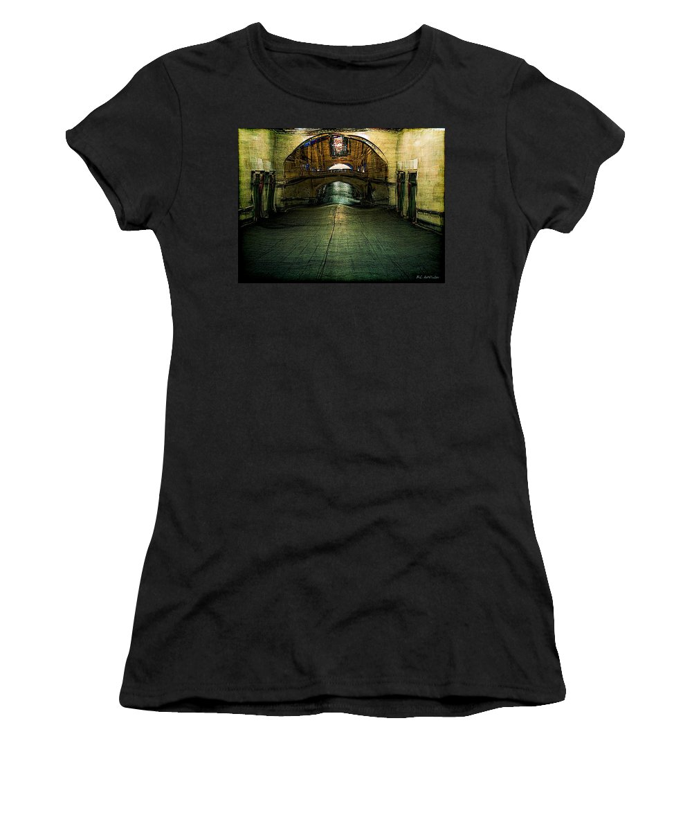 Archway Women's T-Shirt featuring the painting Slouching Towards Bethlehem by RC DeWinter