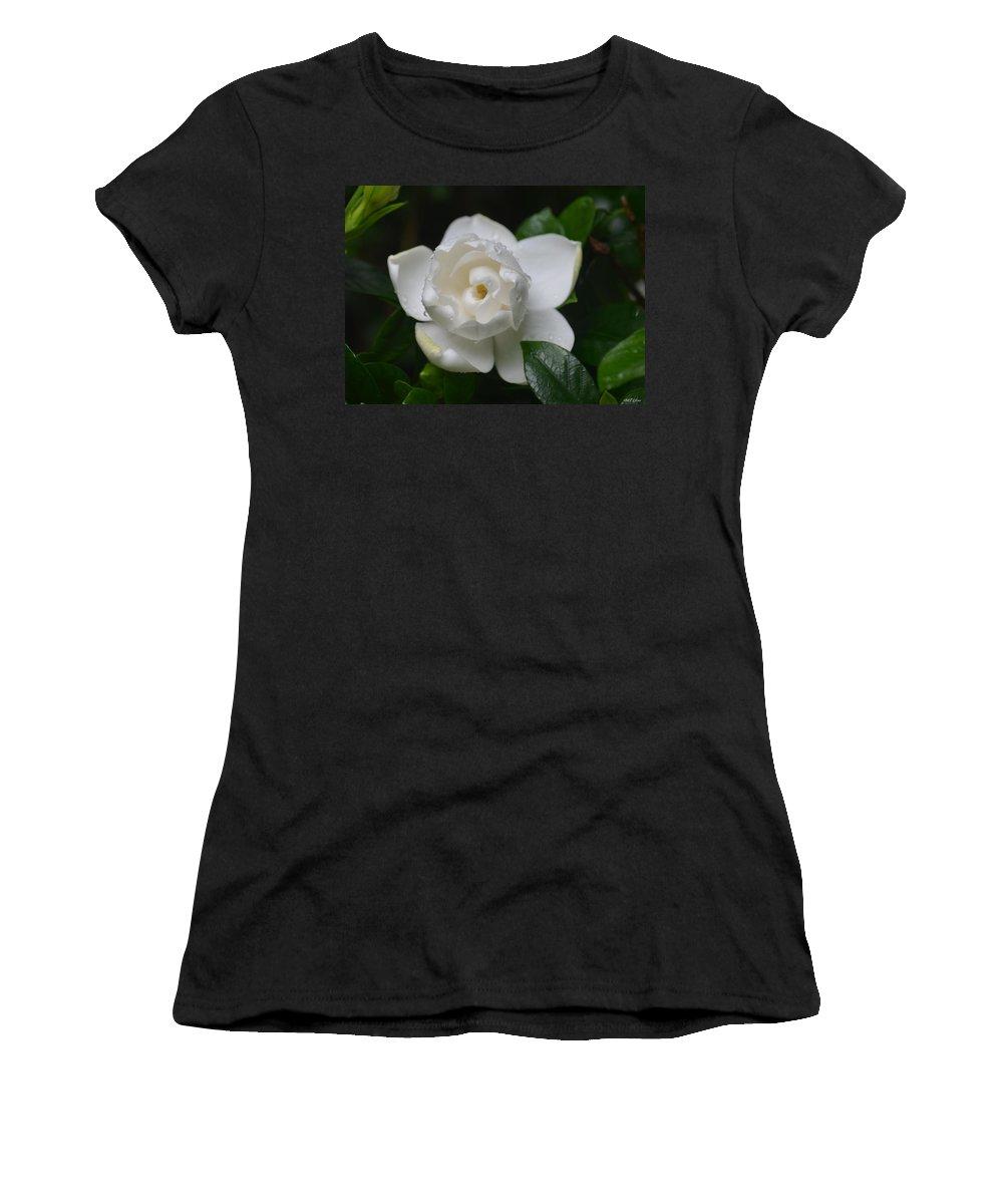 Spring Gardenia 2013 Women's T-Shirt featuring the photograph Spring Gardenia 2013 by Maria Urso